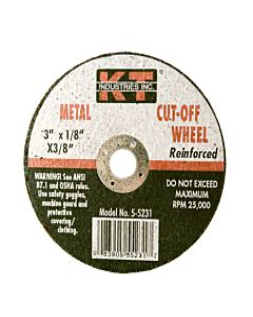 Cut Off Wheel 1/8X3/8 - 3 in