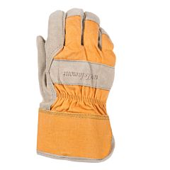 Women's Suede Cowhide Leather Palm Gloves