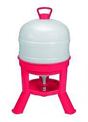 Plastic Dome Poulty Waterer - Red, 8 gal