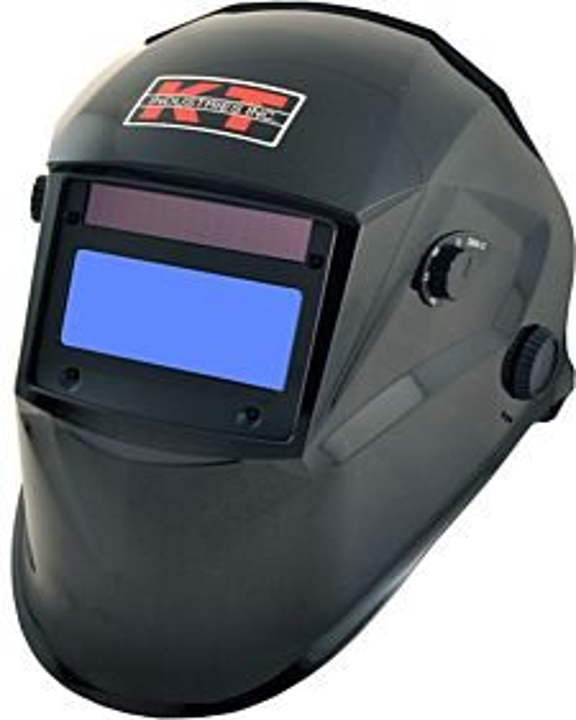 Metallic Black Auto Darkening Helmet