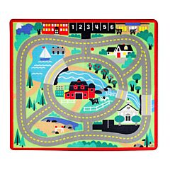 Kids Round The Town Road Rug - 3 Yrs. Old And Above