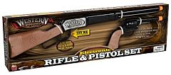 Kids Western Legends Rifle And Pistol Set - 8 Yrs. Old +