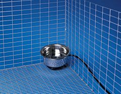 Stainless Steel Heated Pet Bowl - 1 qt