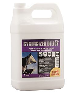 Synergized Delice Pour On Insecticide-1 gal