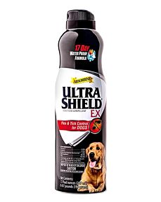 Ultra Shield Flea & Tick Control Spray- 7 oz