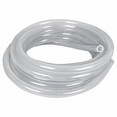 1/2 in X 1/8 in X 25 ft Non-Reinforced Natural Eva Tubing - Clear