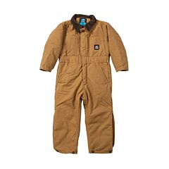 Boys Softstone Duck Insulated Coverall