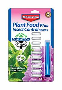 Plant Food Plus Insect Control Spikes