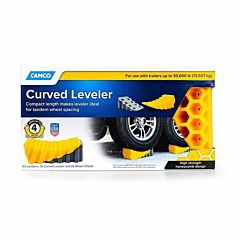 2 pk Curved Leveler And Wheel Chock