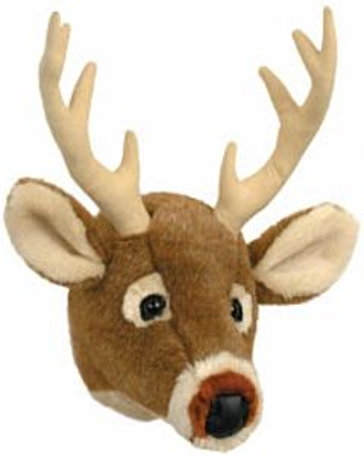 White Tail Deer Mini Trophy Head - 11 in