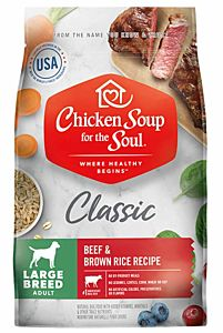28 lb. Classic Large Breed Adult Dry Dog Food Beef & Brown Rice Recipe