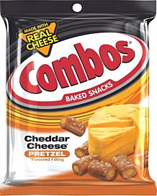 Pretzel Combos - Cheddar Cheese, 6.3 oz