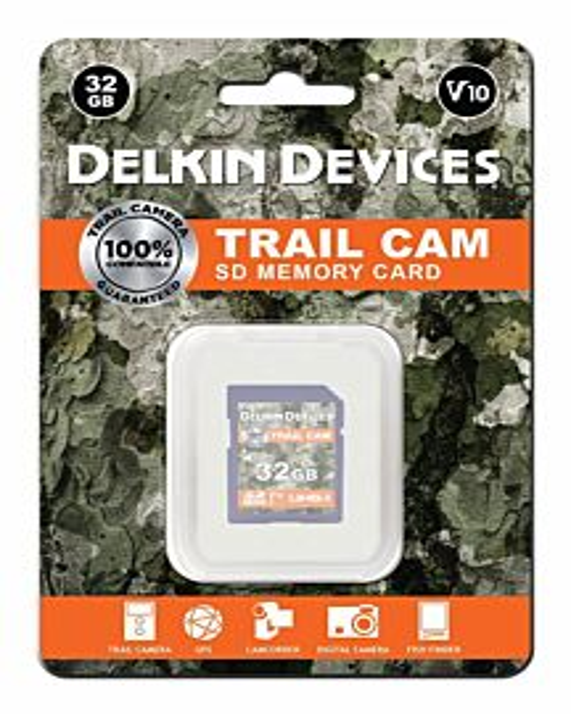 Trail Camera Memory Card- 32Gb Sd