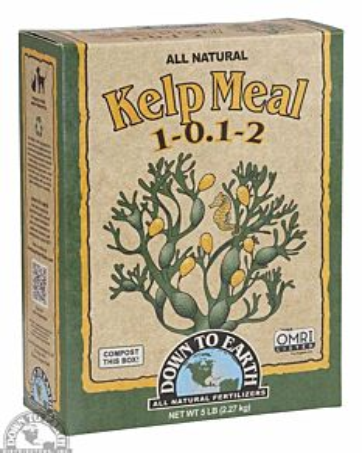 Kelp Meal 1-0.1-2 Fertilizer - 5 lb