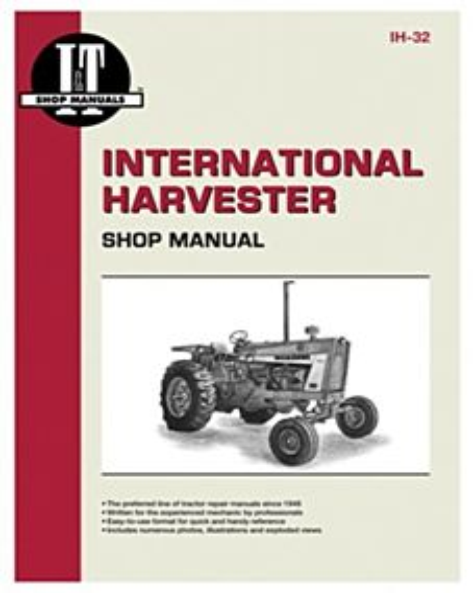 Tractor Shop 201 Manual International Harvester Gas