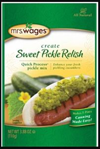 Mrs. Wages Sweet Pickle Relish Mix - 3.88 oz