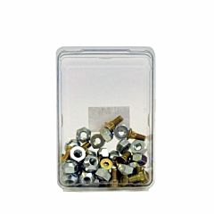 Countersunk Bolt/Nut Hardware Pack|25 Pieces Each