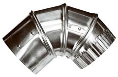 Adjustable Duct Elbow - 4 in