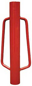 Red Fence Post Driver