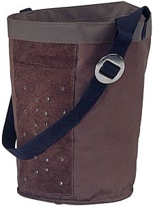 Canvas Feed Bag - Brown