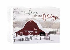 Home For The Holidays Pallet Decor