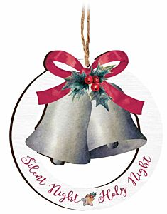 Silent Night Holy Night Bell Ornament