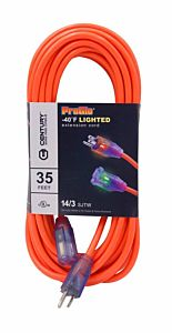 35 ft Pro Glow Lighted Extension Cord