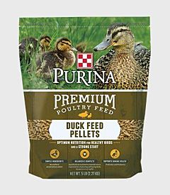 Duck Feed Pellets - All Life Stages, 5 lb