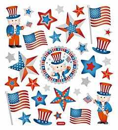 Uncle Sam Stickers