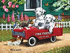 Fireman's Friends 300 Piece Puzzle - 18 in X 24 in