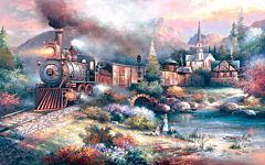 Maryland Mountain Express 300 Piece Puzzle