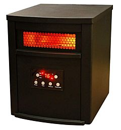 Infrared Heater with Metal Cabinet