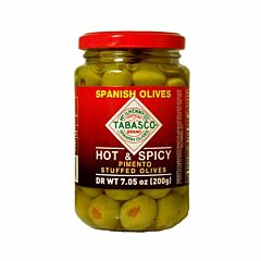 Stuffed Spicy Olives -, 7.05 oz