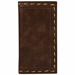 Men's Rodeo Whip Wallet - Brown