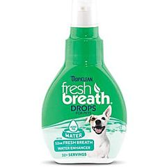 Fresh Breath Drop Water Additive for Pets - 2.2 oz