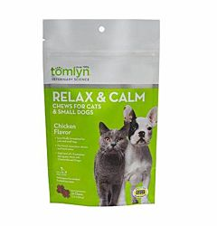 Relax & Calm Chews For Cats & Small Dogs