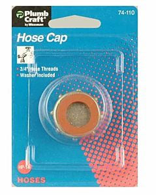 Hose Cap - 3/4 in