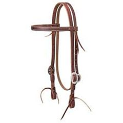Tack Economy Browband Headstall - 3/4 In, Horse