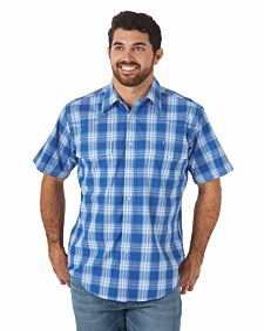 Men's Relaxed Fit Wrinkle Resist Short Sleeve Shirt