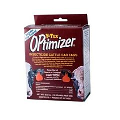 Optimizer Insecticide Cattle Ear Tags - 20 Pack