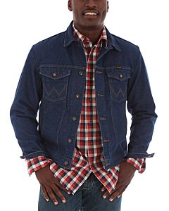 Men's Cowboy Cut Unlined Denim Jacket