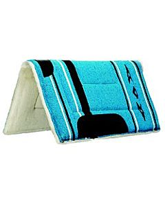 Saddle Pad - Blue, Fleece, Pony