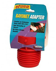 Coupler Bayonet Fitting - Red, 4 oz