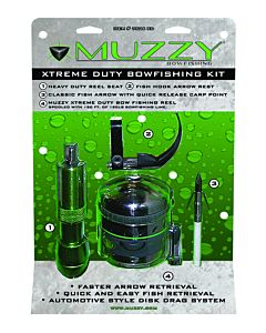 Muzzy Extreme Duty Bowfishing Kit