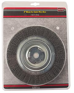 8 In, Wheel Brush Medium 1/2 - 5/8 in