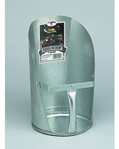 Galvanized Feed Scoop - 4 qt