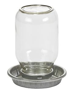Mason Jar Baby Chick Waterer - 1 qt
