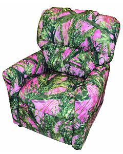 Magnolia Furniture Magnolia Children'S Pink Camo Recliner