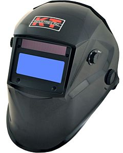 Metallic Black Auto Darkening Helmet