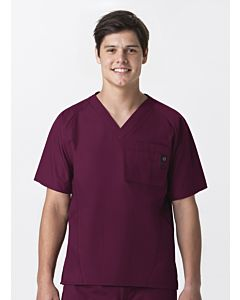 WonderWink Men's Raglan Solid 5 Pocket Scrub Top